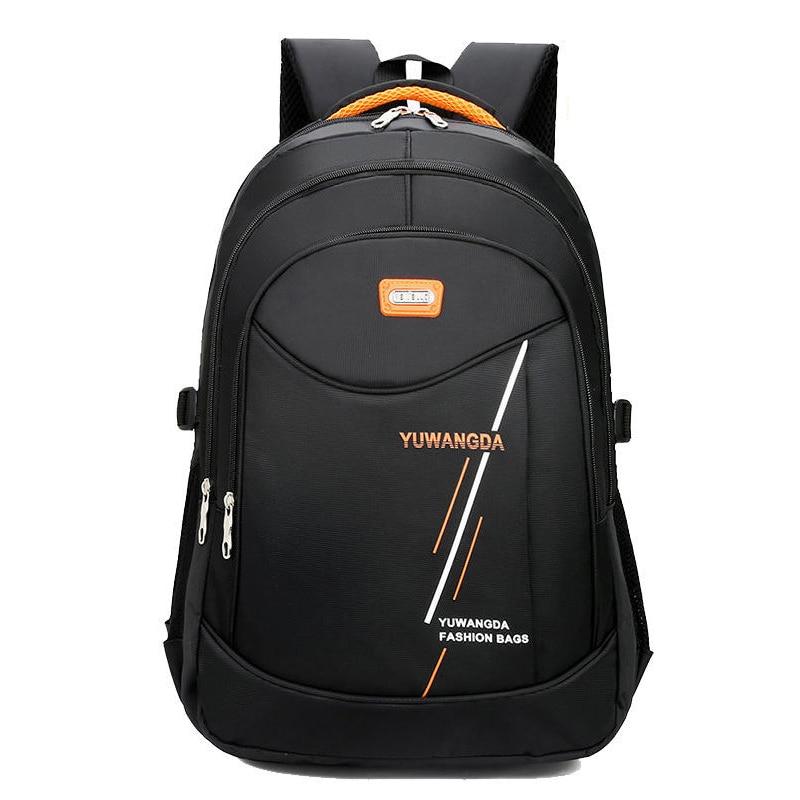 Повседневный Рюкзак для ноутбука для мальчиков-подростков, уличные дорожные рюкзаки из ткани «Оксфорд» для трекинга, школьников и студенто...