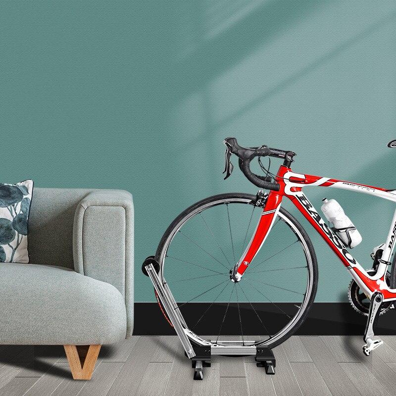 Алюминиевые портативные двухполюсные парковочные стойки для мотоцикла, велосипедные стойки для горного велосипеда, Автомобильные стойки ...