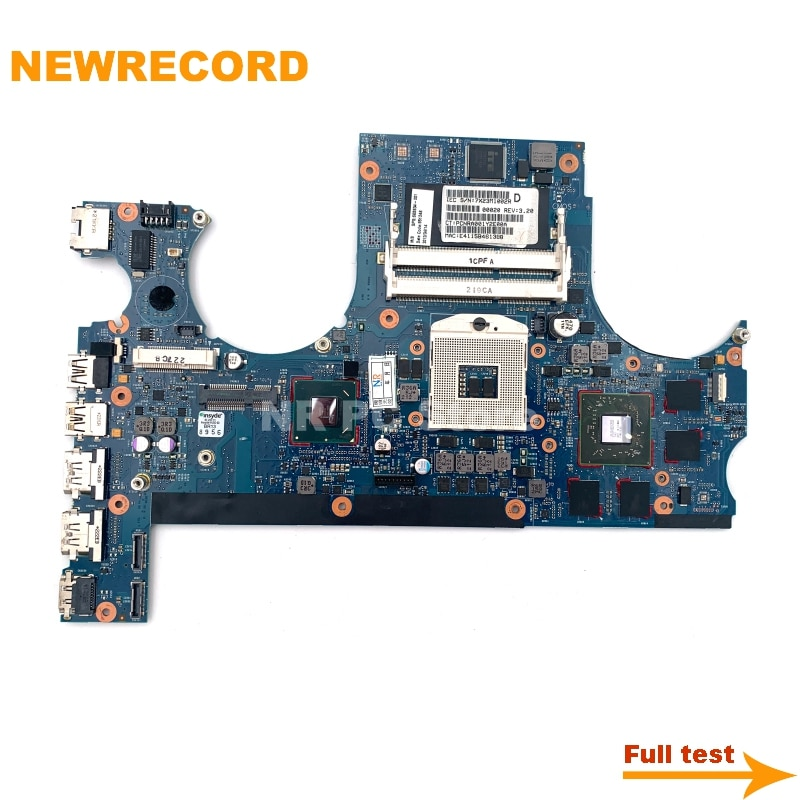 NEWRECORD-اللوحة الأم للكمبيوتر المحمول HP envy 17 17-3200 17-3000 ، 665934-001 HM65 DDR3 ، اللوحة الرئيسية ، تم اختبارها بالكامل