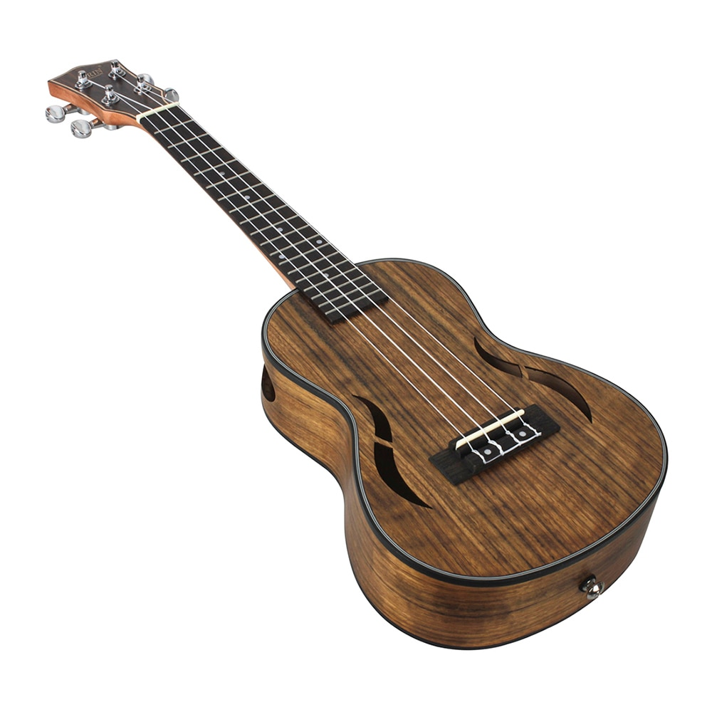 23/26 Inch Ukulele Walnut Musical Instrument for Concert Party 4 Strings Hawaiian Guitar With Pick Capo Strap Bag Accessory set enlarge