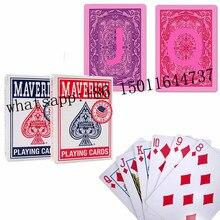 Maverick Spielkarten für infrarot Kontaktieren objektiv Magie Trick Decks Anti Glücksspiel Cheat Poker Ordnung Gebracht Karten