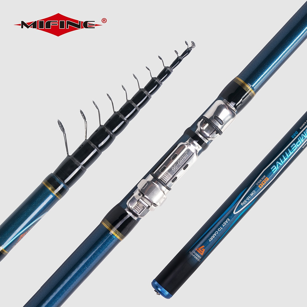 MIFINE COMPETITIVE Telescopic Bolo Fishing Rod 4/4.5/5/6M HIGH CARBON Trout Travel Ultra Light Spinning Float Bolognese 10-30G
