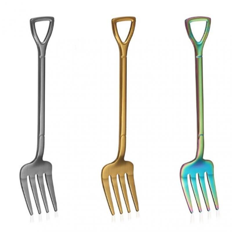 1Pcs/set Hot Sales Cutlery 304 Stainless Steel Tableware Forging Western Food Spoon Fork Knife Steak Dinnerware Sets 2021