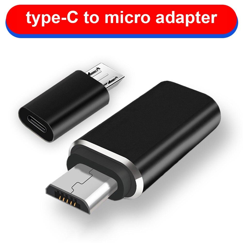 Micro USB папа к Type C Женский адаптер конвертер разъем из алюминиевого сплава для телефона планшета NK-шоппинг