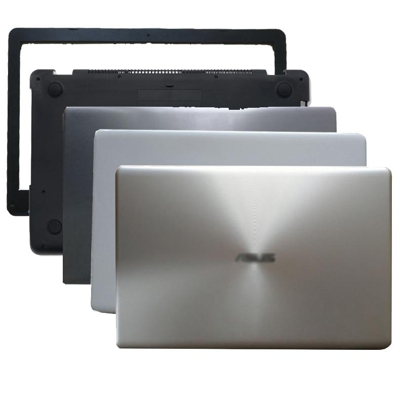 جديد LCD الغطاء الخلفي/الجبهة الحافة/أسفل الحال بالنسبة لشركة آسوس X542 X542UR X542UQR X542UN X542UQ المحمول الغطاء الخلفي أسود/أبيض/أحمر