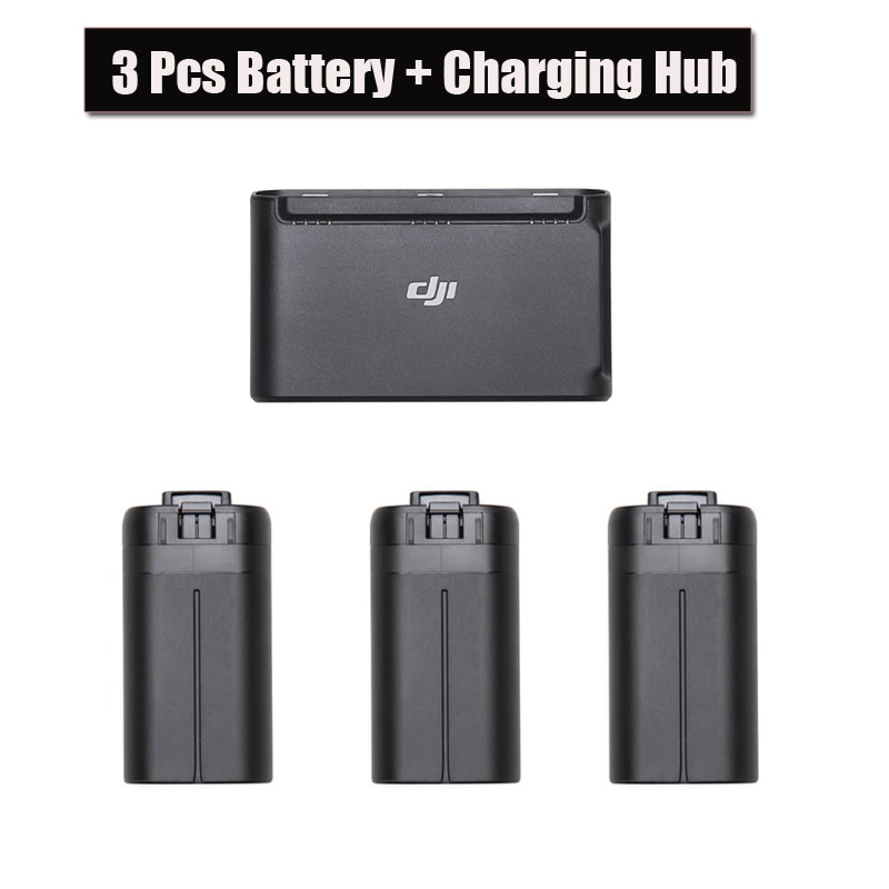 Фото - 3PCS Original DJI Mavic Mini Battery + Drone Batteries Charging Hub For Dji Mavic Fly Accessories kenko irnd16 для дрона dji mavic mini