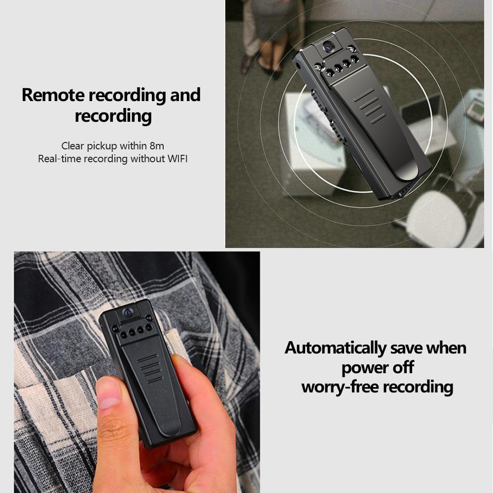 HD 1080P Mini Camera Action Filmadoras Kamery Video Consumer Camcorders Fotografica Kameralar Bodycam Safety Microfono Small