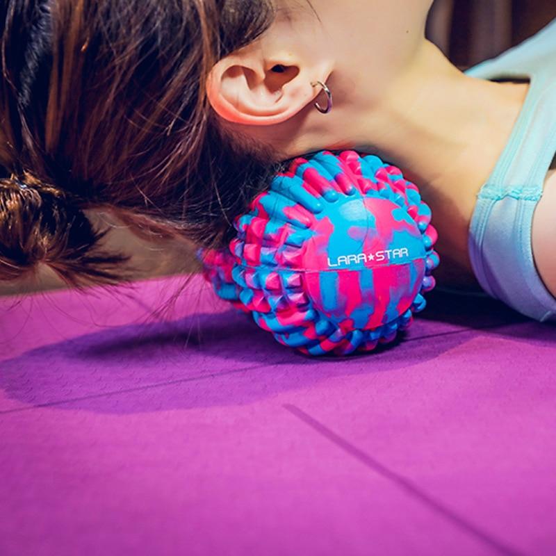 Maxairms Fitness Ball Yoga Massage Ball Hand Neck Shoulder Plantar Back Muscle Relaxation Peanut Ball Balance Training