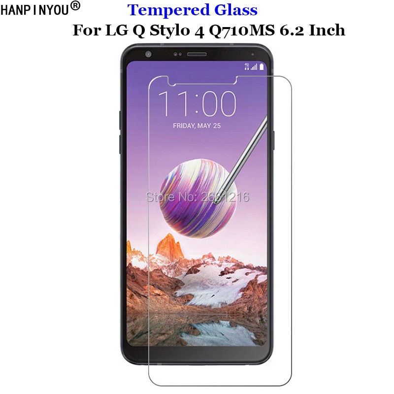 For LG Q Stylo 4 Tempered Glass 9H 2.5D Premium Phone Screen Protector Film For LG Stylo4 Q710MS Q71