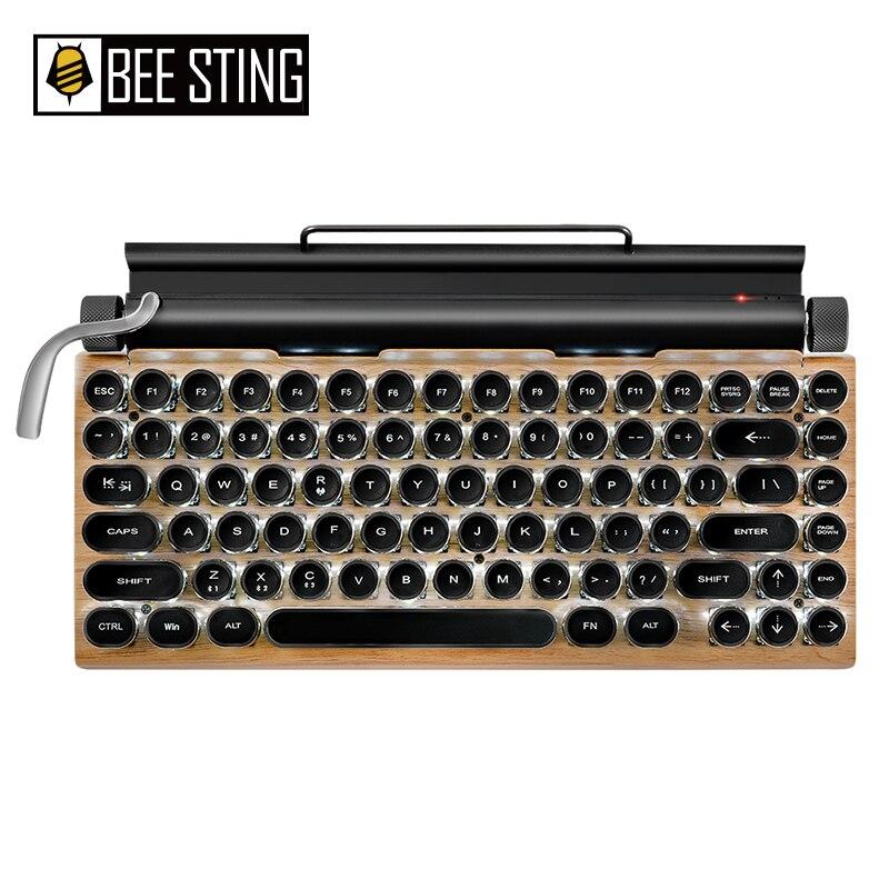 Клавиатура Механическая Беспроводная с Bluetooth, 83 клавиши