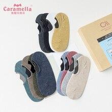 CARAMELLA Summer Thin Socks Men's Low Cut Hidden Socks Pure Color Low-Cut Liners Socks Low Top Motio