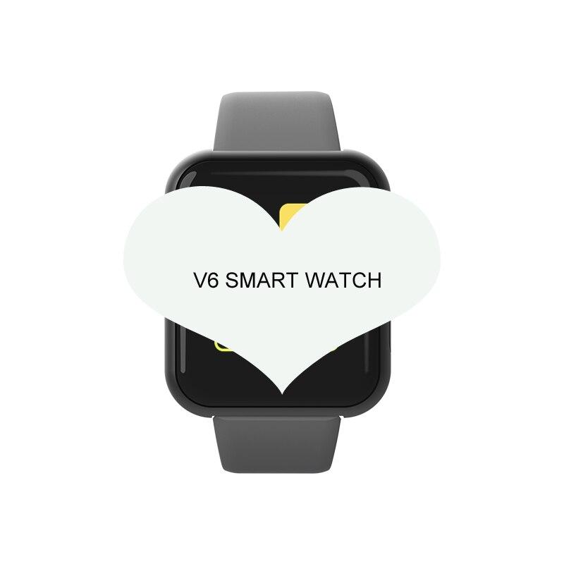 Reloj inteligente hombres presión arterial impermeable Smartwatch rastreador deportivo de ritmo cardíaco relojes deportivos mujeres para Android IOS pk w34 Q18