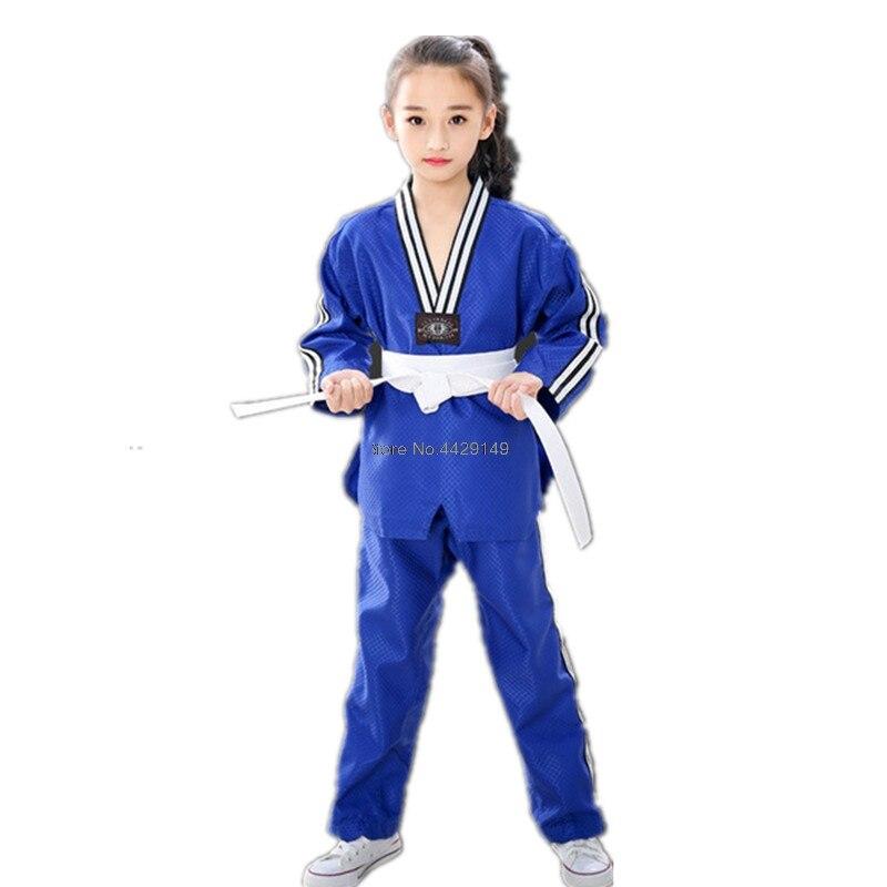 Uniforme profesional de entrenamiento Taekwondo para niños adultos traje de Taekwondo transpirable WTF aprobado TDM Taekwondo dobok ropa