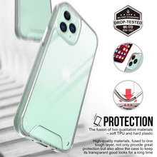Transparent Fall protection phone case for iPhone 11 6 7 8p xs xr mini 12 Pro Max Samsung huawei she