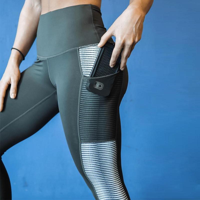 Moda 3D drukowanie różowe legginsy kobiety Push Up wysokiej talii Jeggings Fitness spodnie z kieszeniami Slim poliester Casual kobiety Leggi