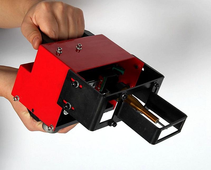 Portable Metal Pneumatic Dot Peen Marking Machine For VIN Code(100*20mm) Frame chassis number 220V/110V