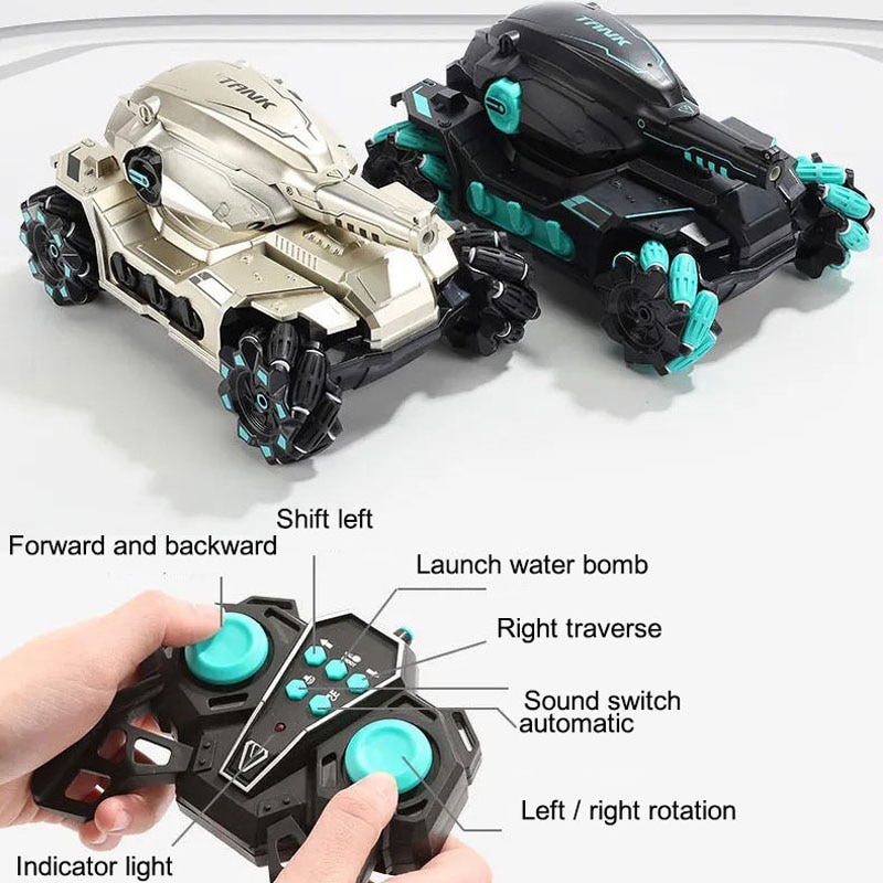 Large RC Car Tank Toys for Children Boys Remote Control Gesture Water Bomb Cars Juguetes Para Ninos Boys Birthday Xmas Gift enlarge