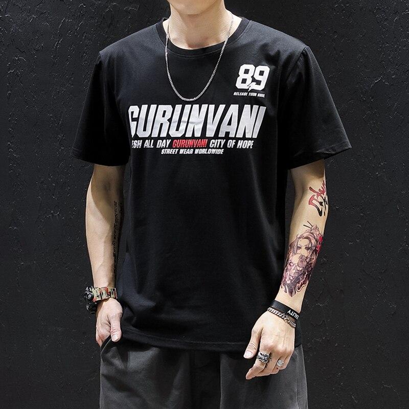 Harajuku japonés Camiseta de verano 2020 para hombre, camisetas con fideos, ropa de calle de dibujos animados, camisetas casuales de manga corta