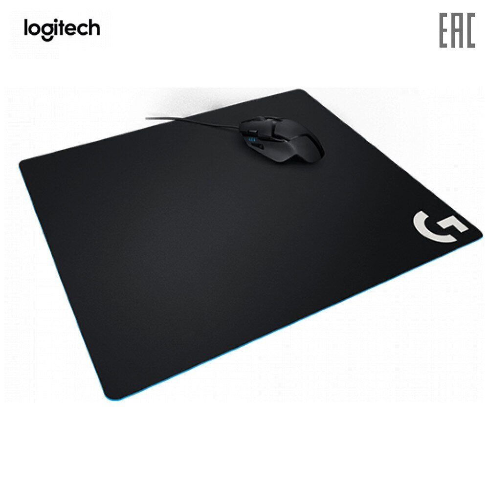 Alfombrillas para ratón Logitech 943-000089, alfombrilla de goma para ratón, Accesorios para ordenador G640