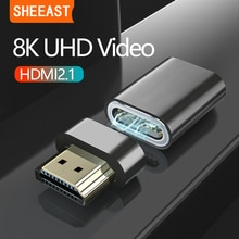 HDMI 2.1 Magnetic Adapter 8K/60HZ 48Gbps 3D Vision Converter for Xiaomi Mi Box Splitter Switch PS3 P