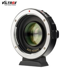Viltrox EF-M2 Ii Af Auto-Focus Exif 0.71X Verminderen Speed Booster Lens Adapter Turbo Voor Canon Ef Lens m43 Camera GH4 GH5 GF6