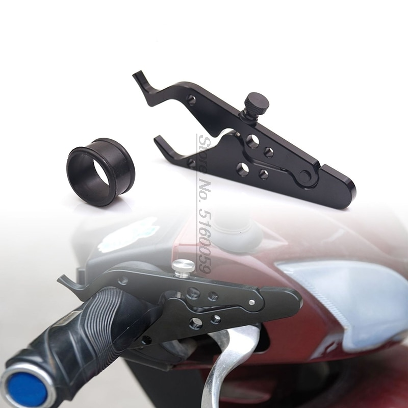Abrazadera para Acelerador de crucero con mango de motocicleta Realisa tus empuñaduras para el centro de Suzuki Sv Cb 190R Ktm Sx 125 Ducati Monster 620