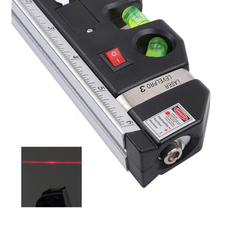 Nastro laser a linee incrociate a livello laser a infrarossi 4 in 1 - Strumenti di costruzione - Fotografia 5