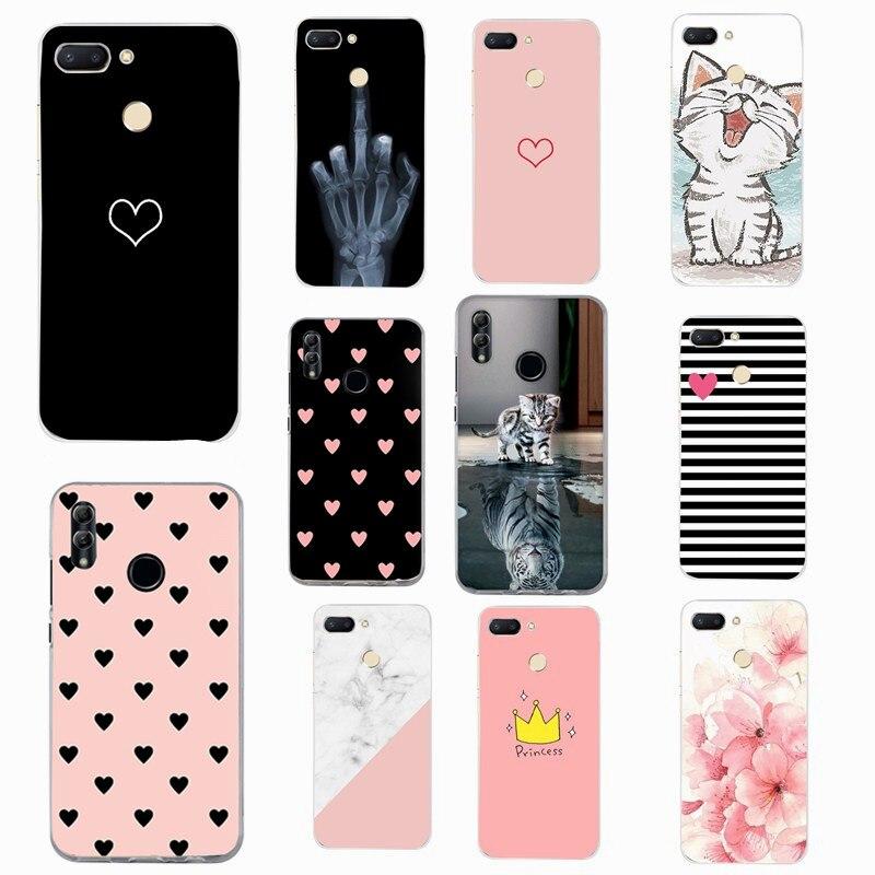 Silicone TPU Case For xiaomi Redmi Note 4/note 4 pro Case Cover for Redmi 6 6A 5 Plus 4x Xiaom mi A1 Phone case flower