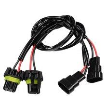 YUNPICAR 9006 9005 HB3 HB4 Steckdosen Männlich Weiblich Adapter Verlängerung Kabelbaum Stecker für LED Scheinwerfer Nebel Licht