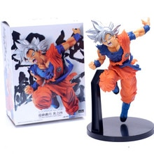 Dragon Ball Super Ultra Instinct Son Goku PVC Action Figures Anime Dragon Ball Z Goku Model Toy Figurine DBZ Brinquedos 23cm