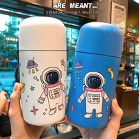 olerd korean cute cartoon astronaut 316 stainless steel stewed pot thermos outdoor portable vacuum insulated cup thermos pot