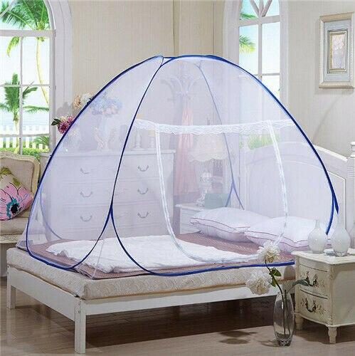 جديد المحمولة المنبثقة التخييم خيمة سرير للحيوانات الأليفة المظلة شبكات الباعوض التوأم كامل الملكة الملك الحجم مكافحة البعوض صافي