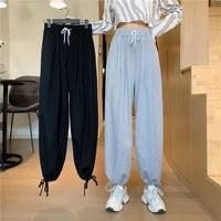cheap wholesale 2021 spring summer autumn new fashion casual popular long women pants woman female ol sweatpants fy6480