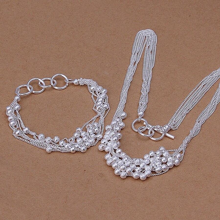 Комплект-вечерние-колье-и-браслета-из-серебра-925-пробы-20-см-45-см