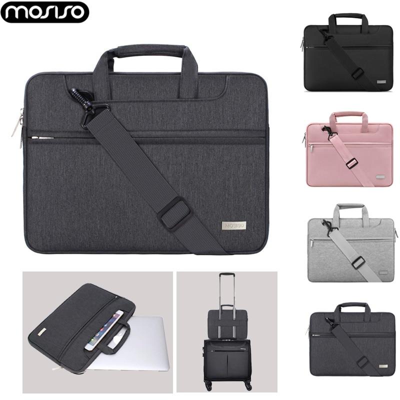 MOSISO-حقيبة يد لأجهزة الكمبيوتر المحمول ، حقيبة كتف ، 13 14 15 15.6 ، لأجهزة MacBook Air Pro ، Asus ، Lenovo ، Acer ، Dell ، HP