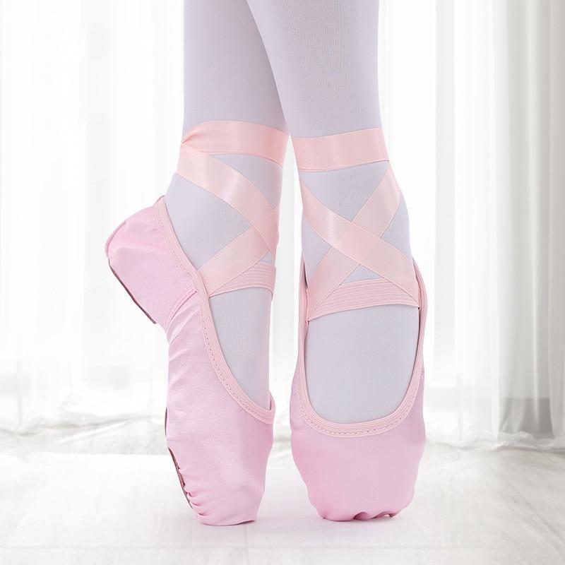 Балетки; Танцевальная обувь; Атласные балетки; Балетки на плоской подошве с лентой; Остроносые туфли; Балетки для девушек; Женская обувь