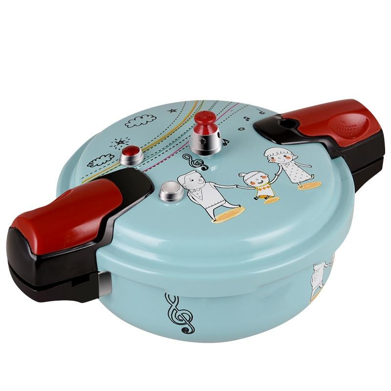 1-4 الناس الغاز التعريفي طباخ العالمي مايكرو قدر الضغط واقية من الانفجار قدر الضغط الصغير الكرتون تصميم المنزلية