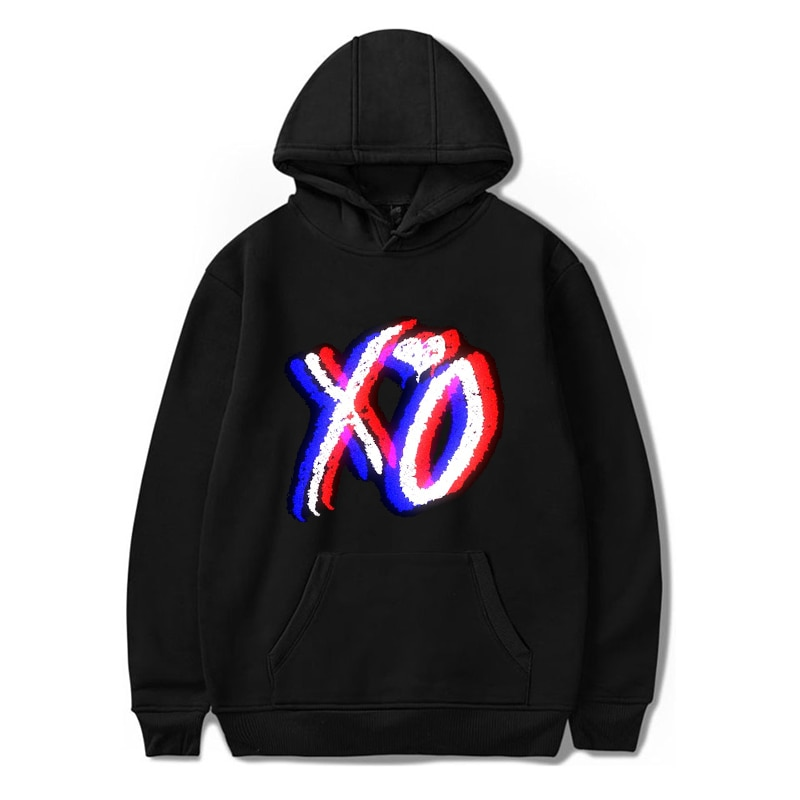 Mujeres/hombres Harajuku The Weeknd XO sudaderas con capucha Unisex Sudadera con capucha Kpop chándal suéter creativo fresco Streetwear XXS-4XL