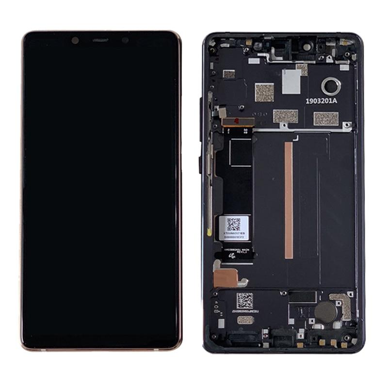 "Pantalla LCD de 5,88 ""AAA + para Xiaomi 8 SE / Xiaomi Mi 8 SE, pantalla LCD Mi8SE, repuesto de Digitalizador de pantalla táctil + marco"