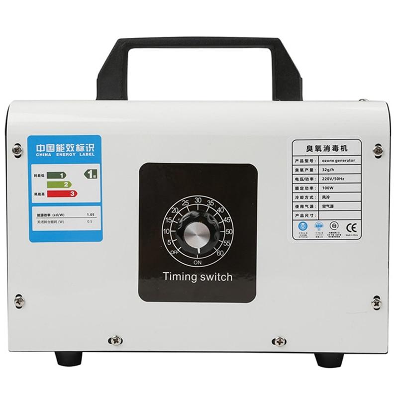 gerador de ozonio do agregado familiar 32 g h purificador ar ozonizador maquina gerador