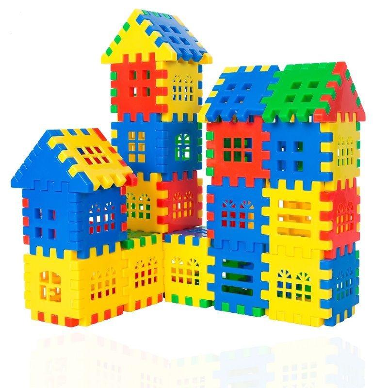 Конструктор, строительные блоки, пластиковый кирпич, соединяющие блоки, игрушки для детей, подарки, строительные блоки, строительные блоки, ...