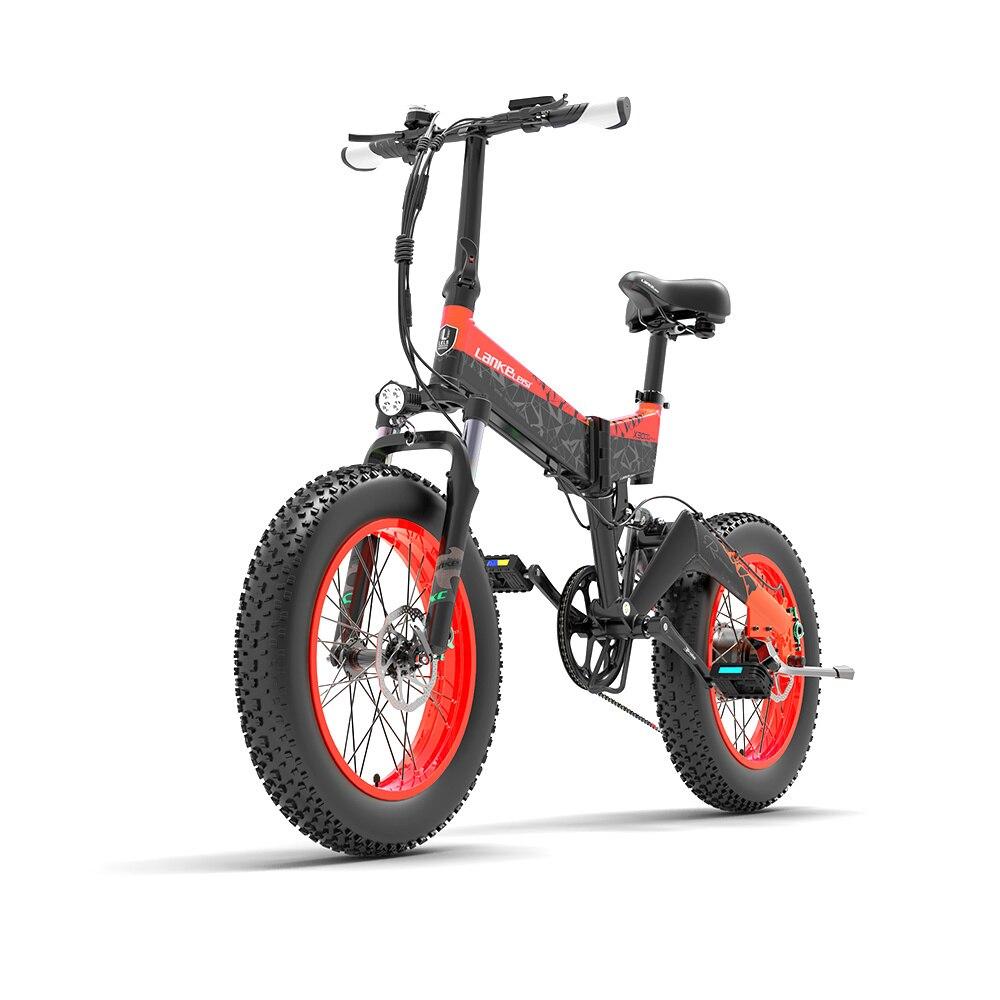 Bicicleta Eléctrica gruesa, 500w, 1000w, 48V