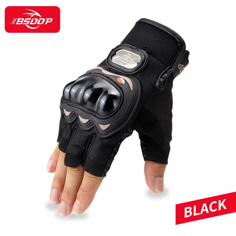 gloves men mountain bicycle gloves 3d gel pad bright green sport gloves with reflective half finger mtb bike gloves cycling BSDDP Cycling Gloves Black Breathable Gel Riding Mtb Bike Guantes Sport Half Finger Motorcycle Bicycle Gloves Men Woman Nnisex