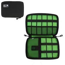 S.IKRR voyage câble sac Portable numérique USB Gadget organisateur chargeur fils cosmétique pochette de rangement à fermeture à glissière kit étui accessoires
