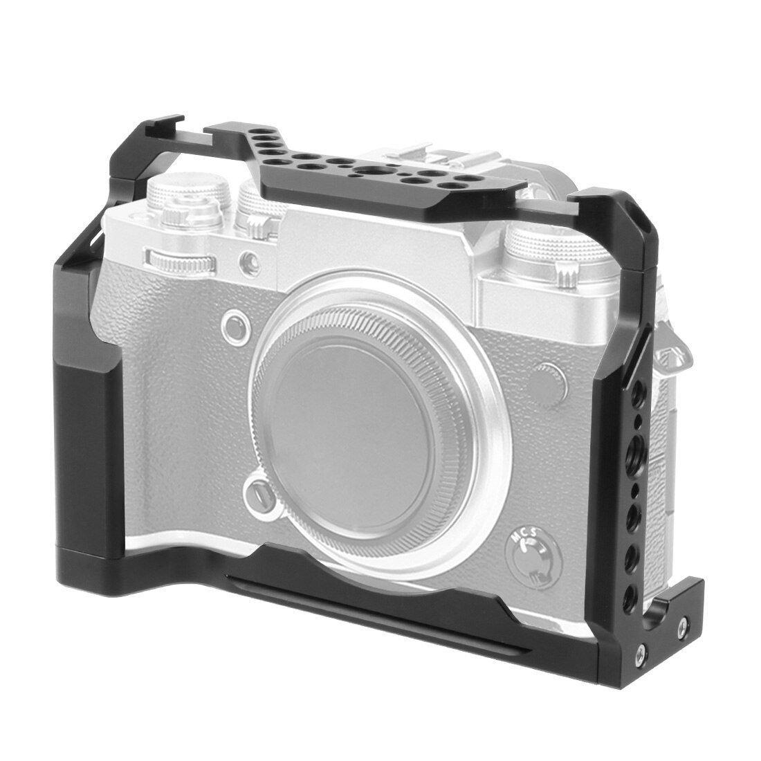 FEICHAO X-T4 Camera Cage Formfitting Protective Full Cage for FUJIFILM Fuji XT4 W/ Cold Shoe Mount for Mic Flash Light Tripod enlarge