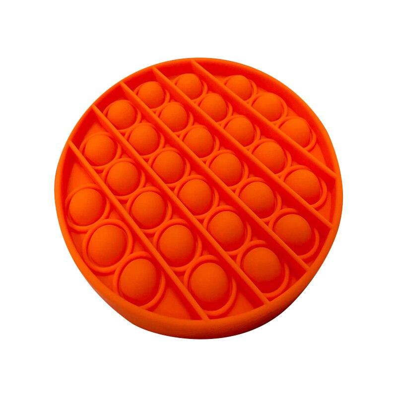 Push Pop Pop Bubble Sensory Fidget Toys Silicone Stress Reliever Toy Squeeze Toy Pop It Fidget Toy enlarge
