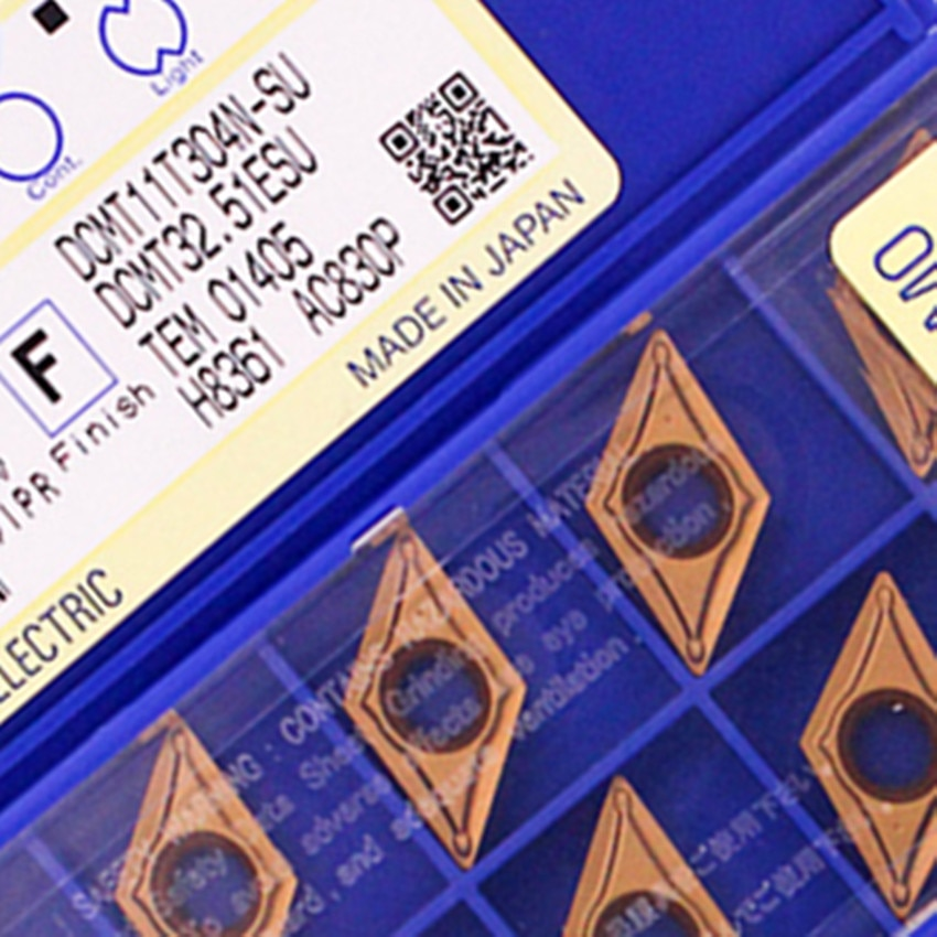 DCMT11T302N-SU AC830P/DCMT11T304N-SU AC830P/DCMT11T308N-SU AC830P DCMT32.50.5 DCMT32.51 DCMT32.52 ЧПУ карбдная Вставка 10 шт./кор.