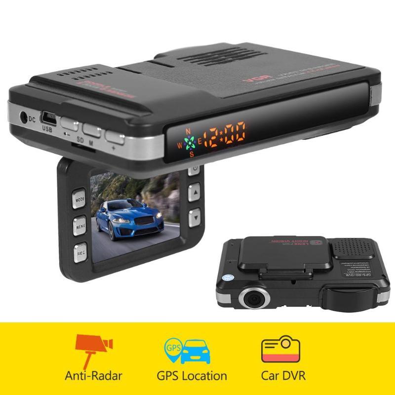 Car DVR Dash Cam VGR1-S 3 in 1 VGR3 2 in 1 Video Recorder Auto Universal Voice Alert GPS Radar Detector Dashcam DVR For Russia