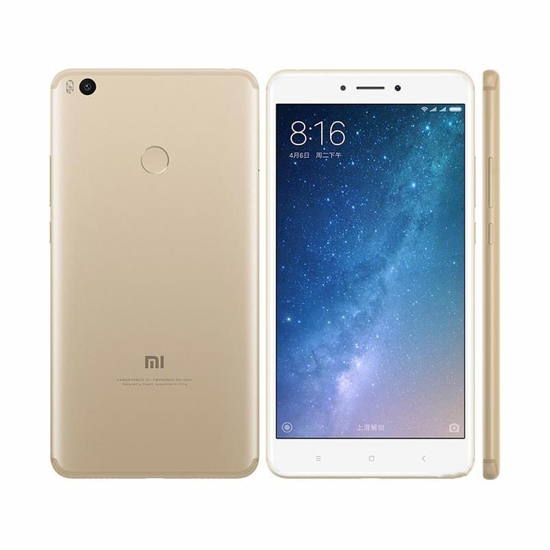 Xiaomi Mi Max 2 smartphone 6.44inch 4G RAM 64GB 4G LTE 5300mAH in stock big promotion