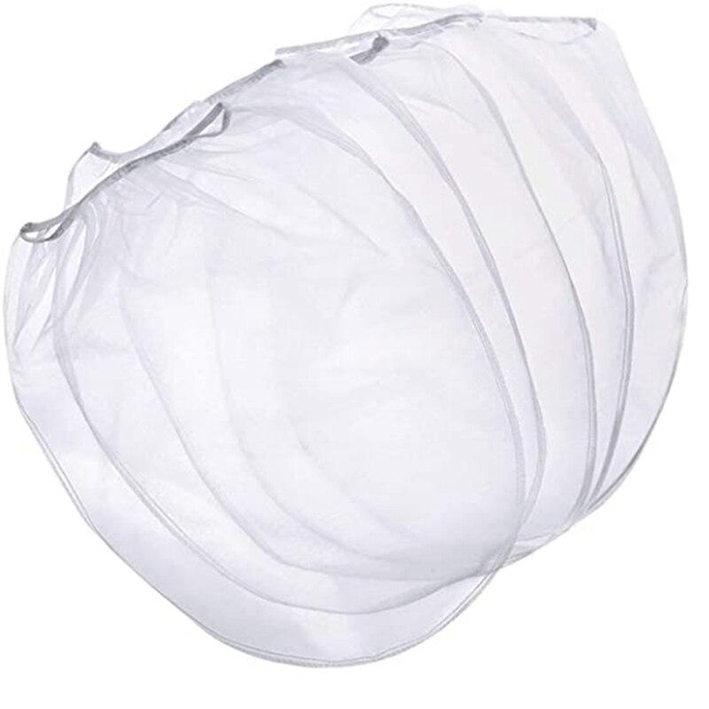 حقيبة مصفاة الطلاء 5 جالون مصفاة الطلاء مع قمة مرنة افتتاح الأبيض غرامة شبكة مرشحات حقيبة لطلاء البستنة